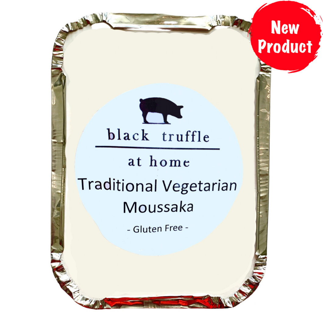 Moussaka Vegetarian - by Black Truffle Catering Co. (gf)