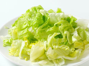 Lettuce - Iceberg Shredded/Sliced 4mm MADE FRESH IN HOUSE for your order