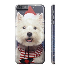 Christmas Westie Phone Case