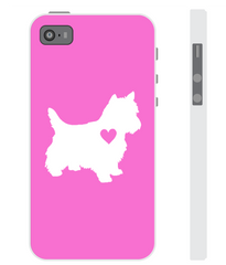 Westie Heart Phone Case