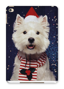 Christmas Westie Tablet Cases Phone & Tablet Cases kite.ly iPad Mini 4 Gloss