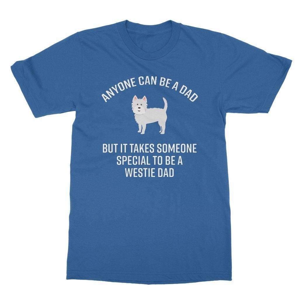 Special Westie Dad Softstyle T-shirt