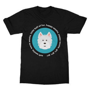 Happy Westie - Big Bang Theory Softstyle T-shirt