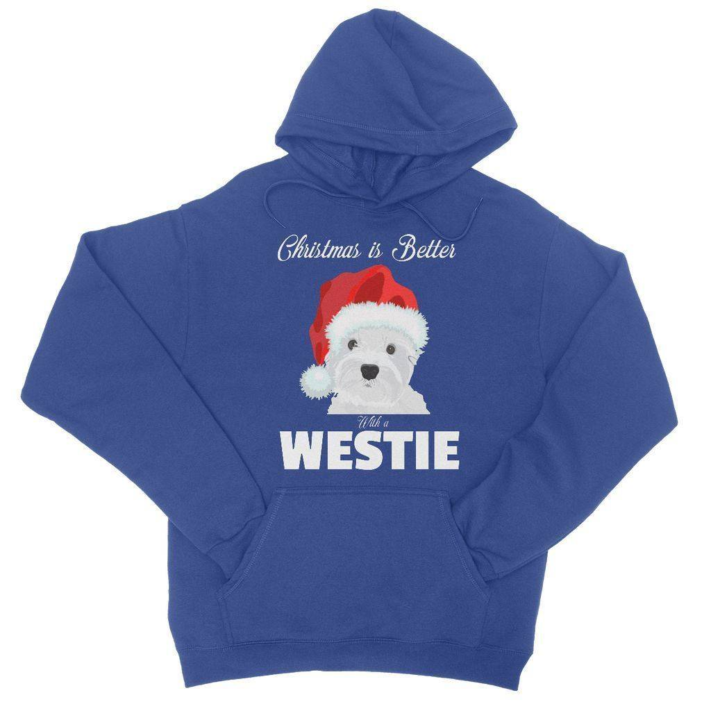 Christmas is better with a Westie College Hoodie