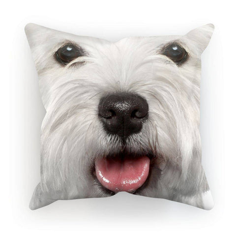 Image of Westie Face Cushion