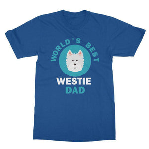 World's Best Westie Dad Tee Apparel kite.ly S Royal Blue