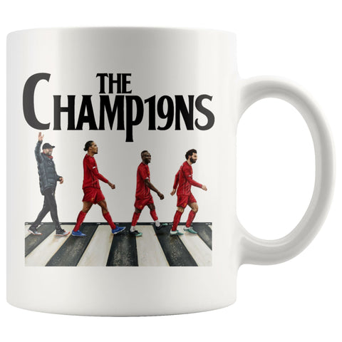 Image of Liverpool FC Premier League Champions LFC Mug Drinkware teelaunch 11oz Mug