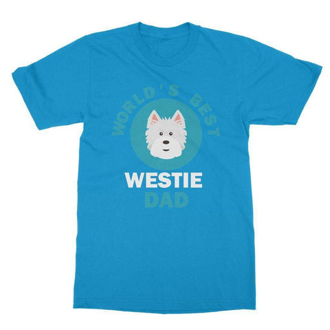 Image of World's Best Westie Dad Tee Apparel kite.ly