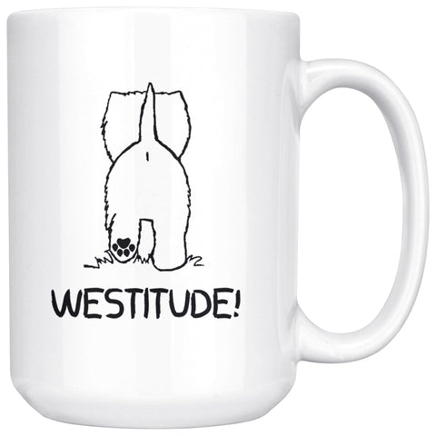 Westitude Mug Drinkware teelaunch 15oz Mug