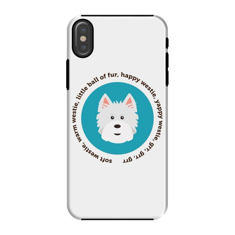 Happy Westie - Big Bang Theory Phone Case
