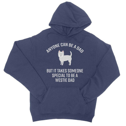 Special Westie Dad College Hoodie Apparel kite.ly S New French Navy