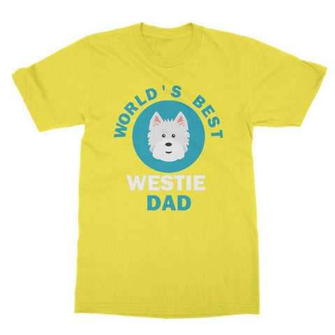 Image of World's Best Westie Dad Tee Apparel kite.ly S Daisy