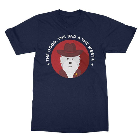 The Good, The Bad and The Westie Softstyle T-shirt