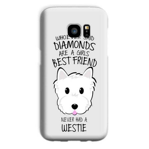 Whoever Said Diamonds Phone Case