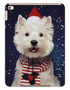 Christmas Westie Tablet Cases Phone & Tablet Cases kite.ly iPad Air 2 Matte