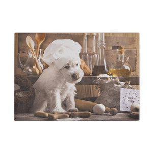 Westie Baker - Westie Glass Chopping Board Cutting Boards teelaunch UK Supplier