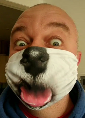 Westie Face Mask Mask Gearbubble