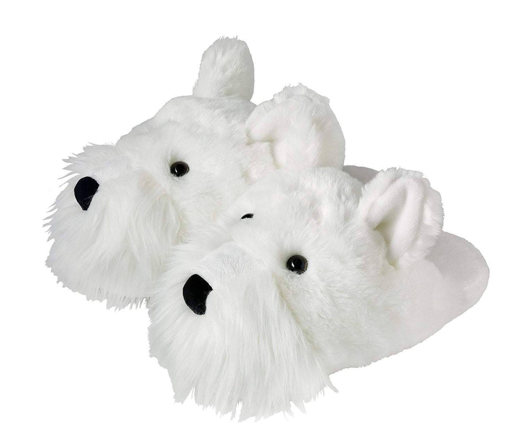 White Westie Slippers - West Highland Terrier Slippers Slippers Westies Shop