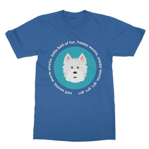 Happy Westie - Big Bang Theory Softstyle T-shirt Apparel kite.ly S Royal Blue