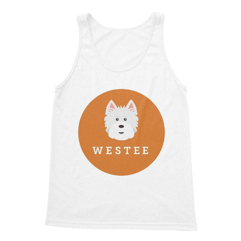 Westee Softstyle Tank Top Apparel kite.ly S White