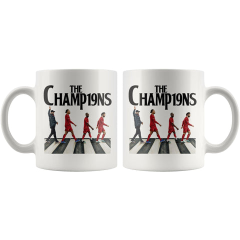 Image of Liverpool FC Premier League Champions LFC Mug Drinkware teelaunch
