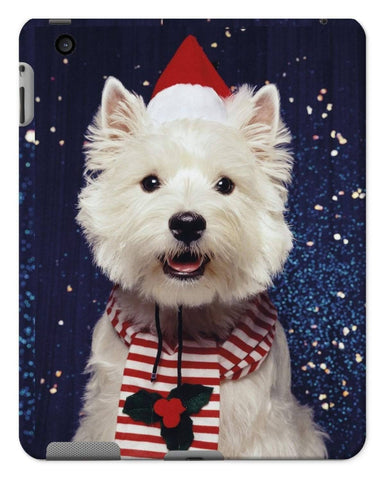 Image of Christmas Westie Tablet Cases Phone & Tablet Cases kite.ly iPad 2/3/4 Gloss
