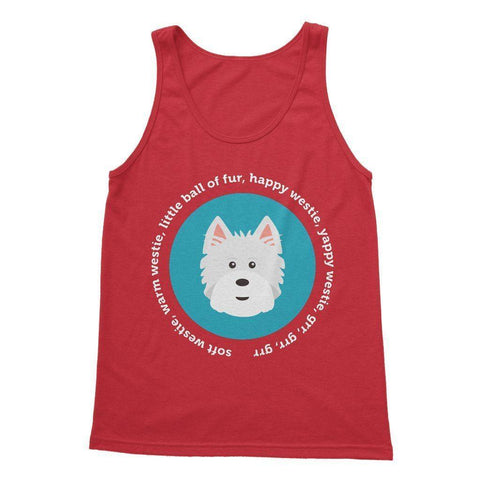 Happy Westie - Big Bang Theory Softstyle Tank Top