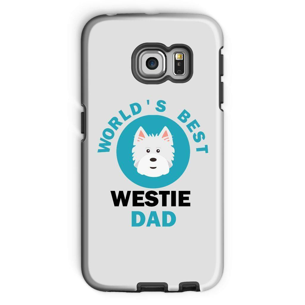 World's Best Westie Dad Phone Case