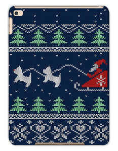 Blue Santa and Westies Christmas Tablet Cases Phone & Tablet Cases kite.ly iPad Air 2 Matte
