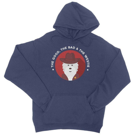 The Good, The Bad and The Westie Hoodie Apparel kite.ly S New French Navy