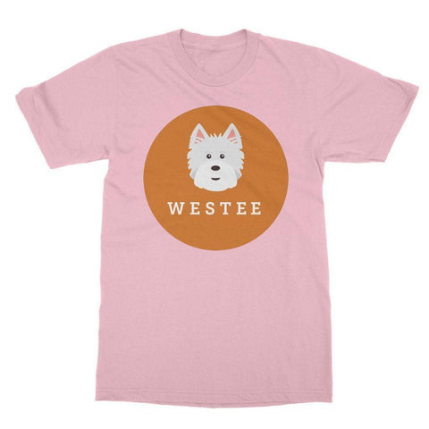 Image of Westee Softstyle T-shirt Apparel kite.ly S Light Pink