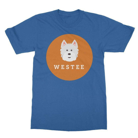Image of Westee Softstyle T-shirt Apparel kite.ly S Royal Blue