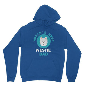 World's Best Westie Dad Hoodie Apparel kite.ly XS Royal Blue