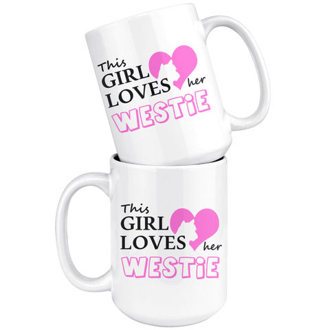 This Girl Loves Her Westie Mug Drinkware teelaunch