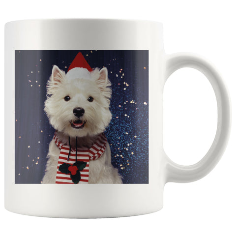 Image of Christmas Westie Mug Drinkware teelaunch 11oz Mug