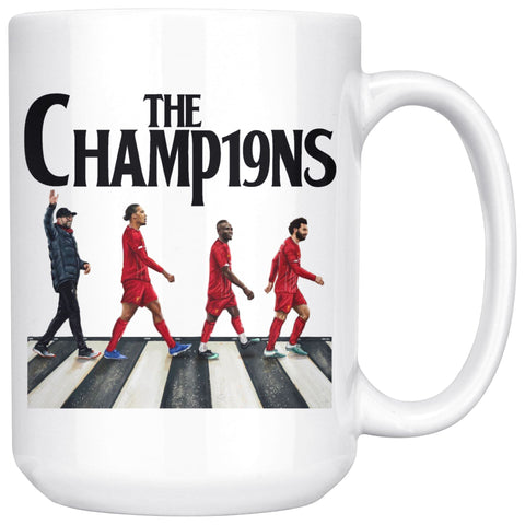 Image of Liverpool FC Premier League Champions LFC Mug Drinkware teelaunch 15oz Mug