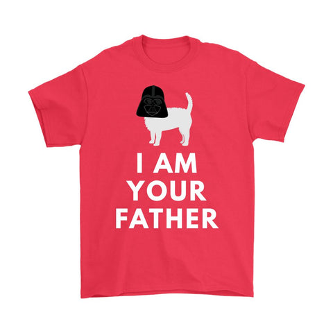 Image of Darth Westie Father Softstyle T-shirt T-shirt teelaunch Gildan Mens T-Shirt Red S