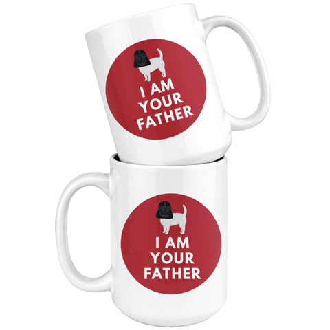 Image of Darth Westie Mug - I am your father Drinkware teelaunch