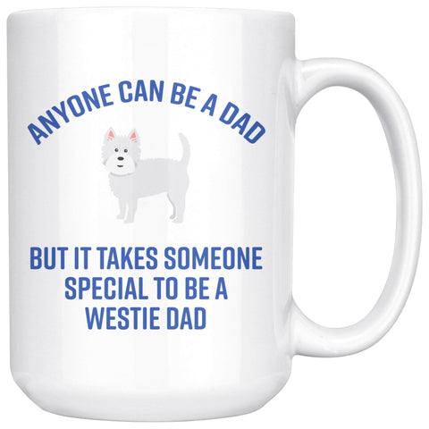 Image of Special Westie Dad Mug Drinkware teelaunch 15oz Mug
