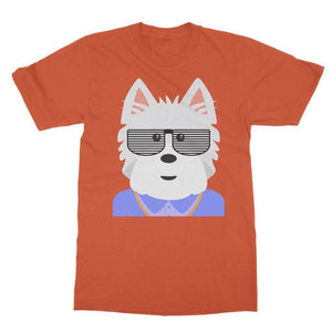 West.I.am Tee Apparel kite.ly S Orange