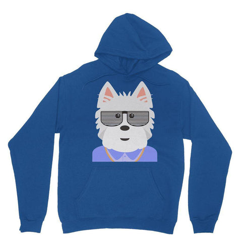 Image of West.I.am Hoodie Apparel kite.ly XS Royal Blue
