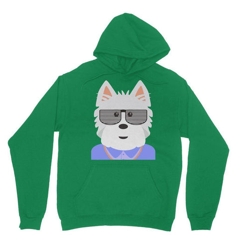 Image of West.I.am Hoodie Apparel kite.ly S Irish Green