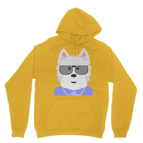 Image of West.I.am Hoodie Apparel kite.ly S Gold