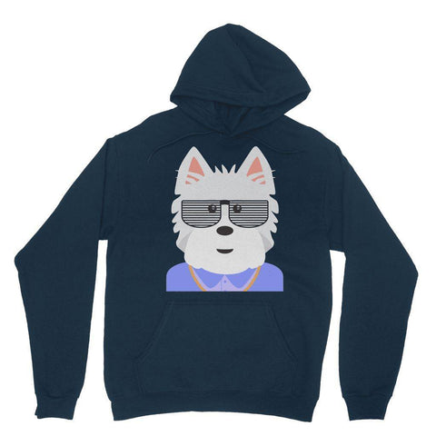Image of West.I.am Hoodie Apparel kite.ly XS Navy