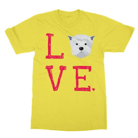 Image of LOVE Westie Tee Apparel kite.ly S Daisy