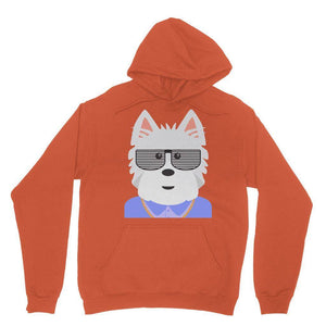 West.I.am Hoodie Apparel kite.ly S Orange