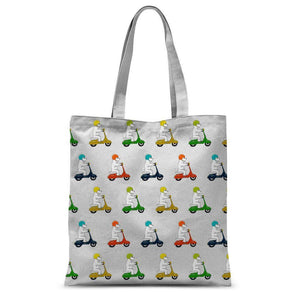 "Motorcycling Westies Tote Bag Accessories kite.ly 15""x16.5"""