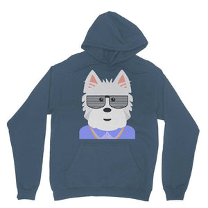 West.I.am Hoodie Apparel kite.ly S Indigo Blue