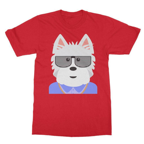 Image of West.I.am Tee Apparel kite.ly S Red