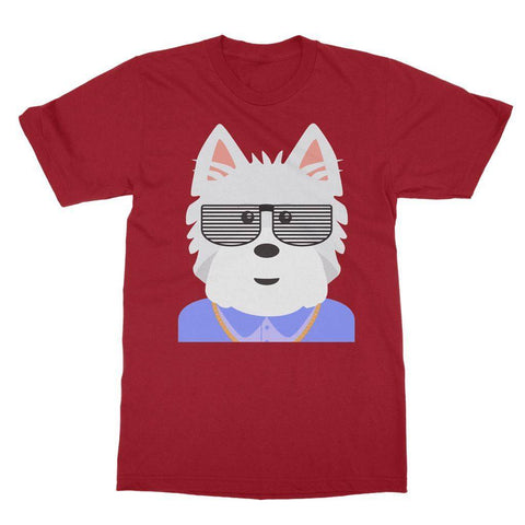 West.I.am Tee Apparel kite.ly S Cardinal Red